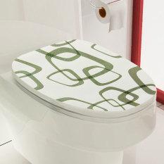 Jual Beli Tutup Penutup Kursi Toilet Kamar Mandi Wallpaper Stiker Gaya Vinil Pvc Seni Dekorasi Dinding Diseduh Sendiri