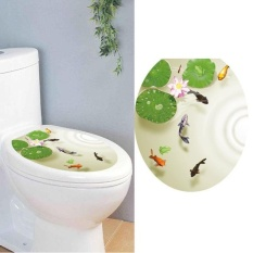 Kursi Toilet Stiker Dinding Decals Vinyl Art Removable Dekorasi-Intl By Coconie.