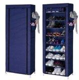 Toko Bagus Indo Shoe Rack With Dust Cover 5 Susun Dark Blue Rak Sepatu Serbaguna Dengan Penutup Tokobagusindo Diskon 30