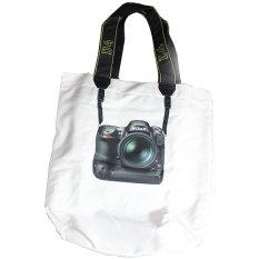 TokoKadoUnik Nikon Tote Bag - Putih