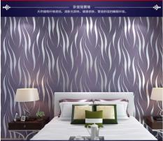 TOKUNIKU Wallpaper 3D Non Woven Water TOKUNIKU 53cmx10m - Violet 550607