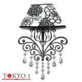 Jual Tokyo1 Stiker Unik Lampu Dinding Model Bunga Multicolor