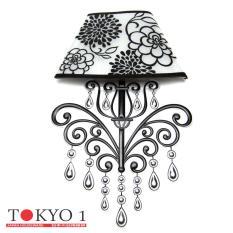 Jual Tokyo1 Stiker Unik Lampu Dinding Model Bunga Multicolor Tokyo1