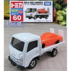 Tomica Reguler 60 Isuzu Elf Vehicle Transporter White - O68hxn