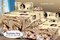 Harga Tommony Sprei Sorong 2 In 1 Classic Cats Dan Spesifikasinya