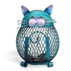 Harga Tooarts Kotak Koin Celengan Kucing Hewan Besi Ornamen Ornamen Kreatif Seni Kerajinan Dekorasi Interior Internasional Fullset Murah