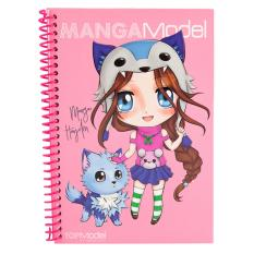 Beli Top Model Tm 8517 Mangamodel Pocket Colouring Book Online Indonesia