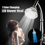 Promo Top Spray Led Light Handheld Shower Head 7 Colors Changing Led Glow Water Filter Intl Di Hong Kong Sar Tiongkok
