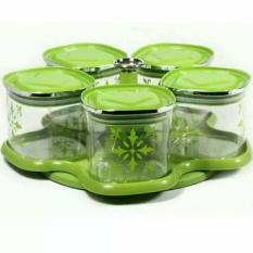 Toples Canister Flores Carousel Arniss