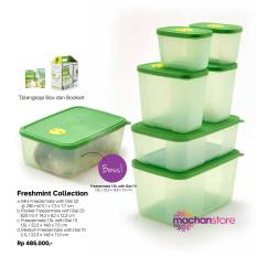 Harga Toples Kulkas Murah Tupperware Freshmint Collection Asli