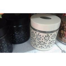 TOPLES SHABBY CHIC / TOPLES DRY CAKE Lebaran / glass & iron - Best seller