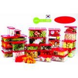 Jual Toples Wide Block Food Container 6 Set 704 Dki Jakarta Murah
