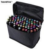 Jual Touch Five Colors Graphic Art Twin Tip Marker Pen Color Black Size 30Pcs Intl Oem Murah
