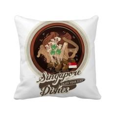 Tradisional Singapura Bak Kut Teh Bantal Bantal Sarung Bantal Sofa Rumah Dekorasi Hadiah-Internasional