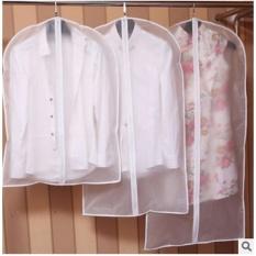 Transparan Lemari Penyimpanan Tas Kain Hanging Garment Suit Coat DUST Cover 60 Cm X 80 Cm-Intl