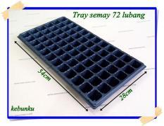 Tray Semai Bibit Untuk Benih Tanaman 72 Lubang