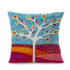Pohon Bunga Sofa Bed Rumah Dekorasi Festival Sarung Bantal-Internasional