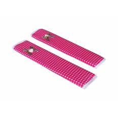 Tren-D-home - Fridge Handle / Sarung pegangan kulkas 28 cm x 15.4 cm - Pink