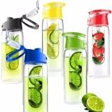 Tritan Bottle With Fruit Infuser Bpa Free Botol Minum Infus Buah Generasi Ii Murah