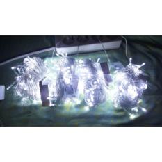Spesifikasi Tumblr Lamp Lampu Natal Isi 100 Biji Dengan 8 Mode Kedipan Lampu Hias Lampu Dekorasi Baru