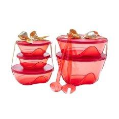 Tupperware 3S Bowl Merah Tupperware Diskon 30