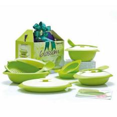 Review Tupperware Blossom Collection Set Di Indonesia