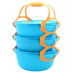 Tupperware Carry All Bowl -Tosca