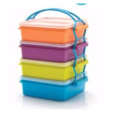 Spesifikasi Tupperware Carry All Set Rantang 4 Susun
