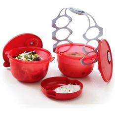 Jual Tupperware Cater Bowl Merah Termurah