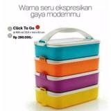 Beli Tupperware Click To Go 4 Susun Jawa Timur