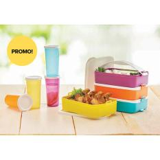 Tupperware Click To go free 4 pcs tumbler