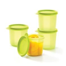 Spek Compact High Bowl 4Pcs Toples Wadah Penyimpanan Tupperware