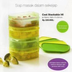 Spesifikasi Tupperware Cool Stackable Tupperware Tempat Penyimpanan Makanan 750Ml 1 2Set Dan Harganya