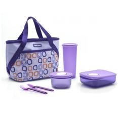 Jual Tupperware Cosmo Violet Tempat Bekal 6Pcs Set Tupperware Ori