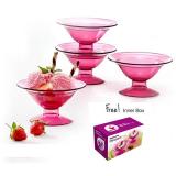 Tupperware Desser Cup 4Pcs Promo Beli 1 Gratis 1