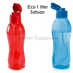 Tupperware Eco Bottle 1Liter - 1pcs