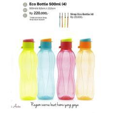 Harga Tupperware Eco Bottle 500Ml Flip Top 4 Branded