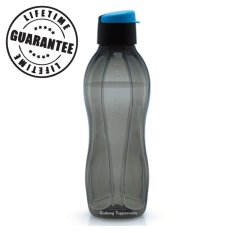 Tupperware Eco Man Black - 750ml Botol Minum