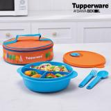 Jual Tupperware Fancy Crystalwave Lunch Box Set Branded