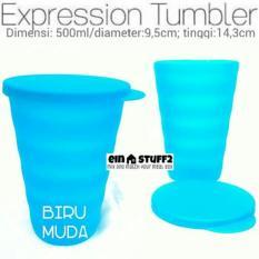 Tupperware Gelas Minum dengan Tutup Expression Tumbler