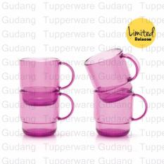 Tupperware Gelas Ungu (4pcs)