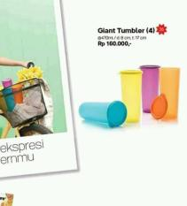 Dapatkan Segera Giant Tumbler 4 Pcs Gelas Minum