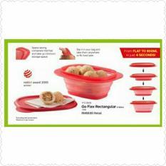 Tupperware Go Flex Rectangular - Wadah Makanan