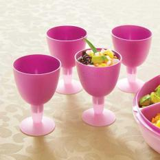 Tupperware Goblet (4pcs Gelas)