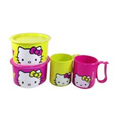 Tupperware Hello Kitty Snack Time