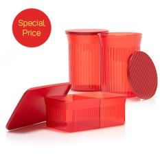 Harga Tupperware Imlek Edition Snack It Family Round Mate Terbaik