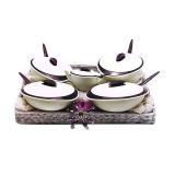 Jual Beli Tupperware Insulated Serving 5 Pcs