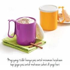Jual Tupperware Jumbo Mug 2Pcs Set Murah