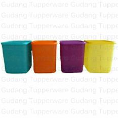 Review Tupperware Large Summer Fresh 4 Pcs New Colour