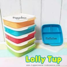 Tupperware Lolly tup (2 pcs)/kotak makan/tempat bekal
